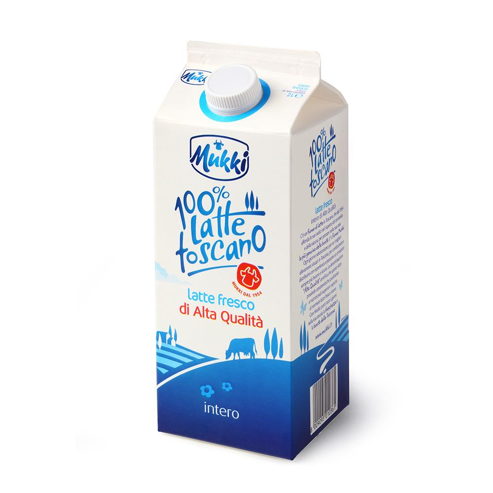 Latte 100% Toscano Alta Qualità Mukki