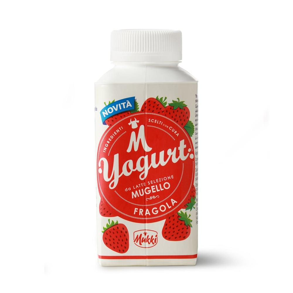 Yogurt da bere Selezione Mugello fragola