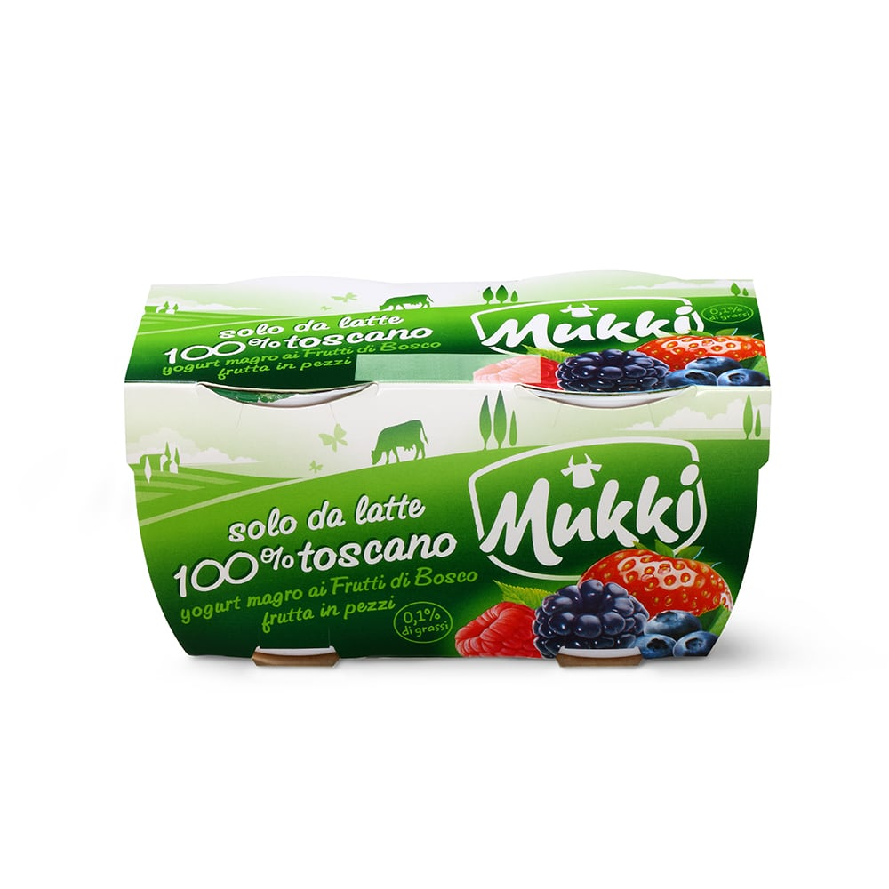 Yogurt magro Frutti di Bosco